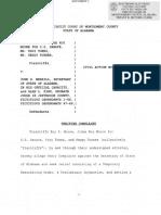 Roy Moore Senate election fraud complaint