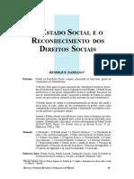 Estado Social e Reconhecimento de DFS - Damiano