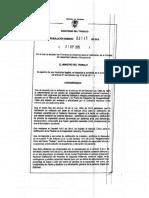 Resolución 3745 de 2015 Formatos de Dictamen Para La Calificación de PCL Y PCO