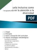 [PD] Presentaciones - La Escuela Inclusiva