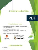 Linux Introduction v2.5