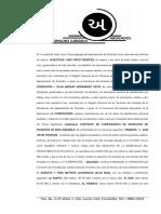 Contrato Privado de Compraventa de Derechos Posesion (Avid y Olga) Hoja Membre
