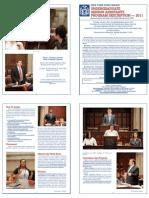 2011 Student Programs - Program Description
