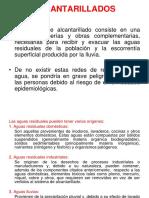 ALCANTARILLADO SANITARIO 1