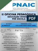 II Oficina Pnaic