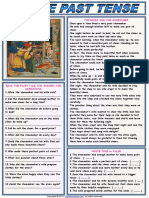 Simple Past Tense the Elves and the Shoemaker 1