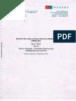 SENELEC Rapport d Audit 2016
