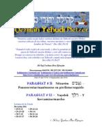 Parashat Nitzvim, Vayelek # 51, 52 Adul 5770