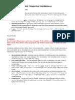Generator Service and Preventive Maintenance