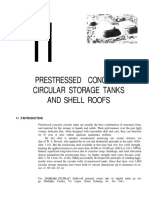 4 Prestressed Concrete Circular Storage Tanks and Shell Roofs