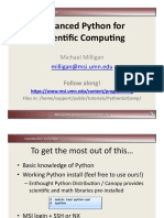 advance python programming