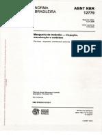 ABNT NBR 12779 - Mangueiras de Incêndio - Insp Manut e Cuidados