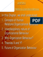 Organizational Behavior & Human Relations