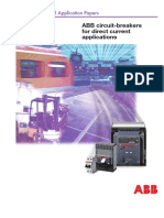 Technical Application Papers Nº5-ABB Circuit Breakers for DC Applications