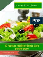 10 Recetas Mediterráneas Para Perder Peso- Oralee Maricel