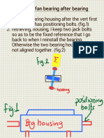 Fans Bearing Housing Alignment (Tamer Notes)