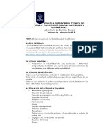 Informe de Práctica de Determinacion de Solubilidad de Solidos Josué Llivipuma Paralelo 201