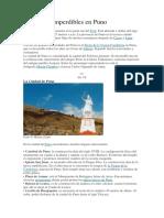 10 Lugares Imperdibles en Puno