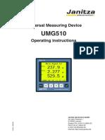 Janitza Manual UMG510 en (1)