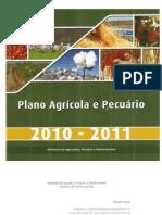 Plano Agrícola e Pecuário 2010 - 2011