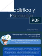 Estadistica y Psicologia