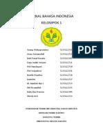 Jurnal Kelompok 1 Ptikreg2012