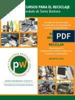 Spanish Recycling Guide Nov 2015