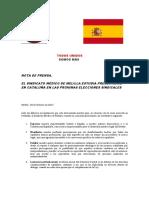2017_ 10_ 30_ Comunicado Prensa OPE Cataluña
