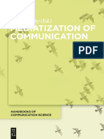 (Handbooks of Communication Science) Knut Lundby-Mediatization of Communication-De Gruyter Mouton (2014)