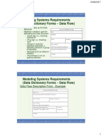 Analysis Forms