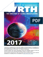 world radio tv handbook 2017  supplement  including a17schedules