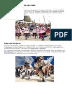 Danzas y Costumbres Del Peru