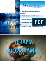 TERAPIA PSICODINAMICA