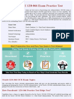 Oracle OCE 1Z0-066 PDF Exam Material - Latest 2018