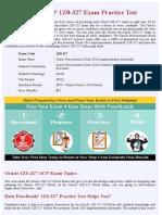 Cloud 1Z0-327 OCP Practice Test - Updated 2018