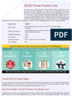 Oracle 1Z0-337  PDF Questions | 1Z0-337 Latest Questions 2018