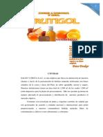 Plan de Marketing de Nectar de Naranja Con Miel