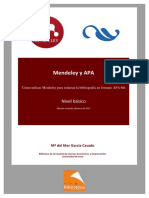 Manual Mendeley y APA 2ª Edición, Febrero 2017