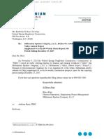 Millennium Pipeline Company, L.L.C., Docket No. CP16-17-000