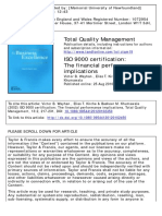 IsO 9000 Certification_ the Financial Performance Implications