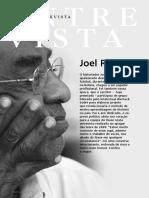 Entrevista Com Joel Rufino Dos Santos II