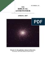 The Biblical Astronomer no. 120