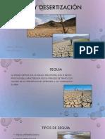 Sequia y Desertización