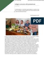 EL MUNDO -Bolivia - Encuentro Agroecológico Convoca a 80 Productores