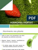 (11) Biologia e Geologia - 10º Ano - Hormonas Vegetais