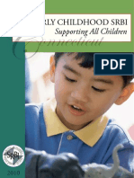 Early Childhood SRBI - A Guide for Preschool Programs