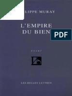 L'Empire Du Bien - Philippe Muray