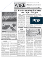 Nov15 FrontXavierNewswire (Rape)