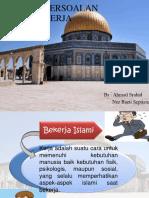 Ppt Islam Persoalan Hidup Dalam Kerja