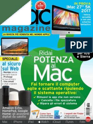 Mac mini gancio fino a iMac